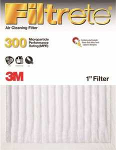 Filtrete 300DC-H-6 16 x 20 x 1-Inch Dust Reduction Air Filter