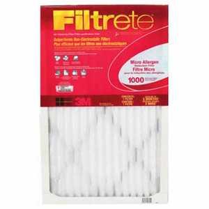 Filtrete 9818 30 x 60 x 1-Inch Micro Allergen Reduction Filter - Hammock Style