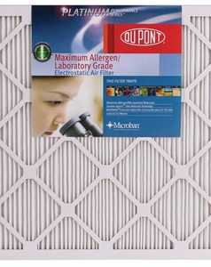 Protect Plus Air AF-P1425 14 x 25 x 1-Inch DuPont Platinum Maximum Allergen Air Filter