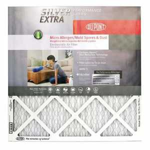 Protect Plus Air AF-SE2020 20 x 20 x 1-Inch DuPont Silver Pleated Air Filter