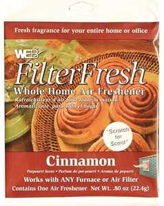Protect Plus Air WCIN-CS Web FilterFresh Cinnamon Whole Home Air Freshener