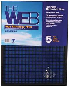 Protect Plus Air WEB1 Web Adjustable High Efficiency Filter