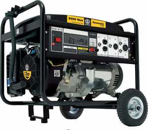 Steele SP-GG-600 6000-Watt Mobile Generator