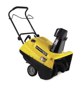 Steele SP-SB055E 21-Inch Snowthrower With Electric Start