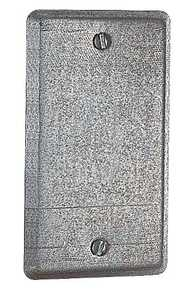Thomas & Betts 58 C 1 One Gang Blank Utility Box Cover