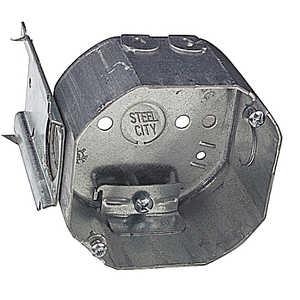 Thomas & Betts 54171NL Steel Octagon Box With Bracket