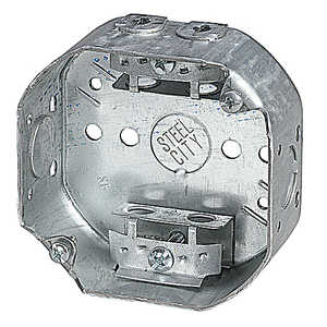 Thomas & Betts 54151A 4 in Steel Octagon Box