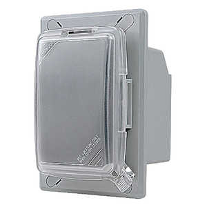 Thomas & Betts CKRU-8 1 Gang Universal While-In-Use Recessed Receptacle Cover