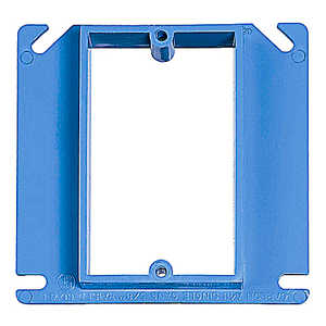 Thomas & Betts A411RR 1-Gang 4.2 Cubic Inch. Non-Metallic Box Cover, 5/8 in Raised