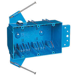 Thomas & Betts B344AB 3 Gang Outlet Box