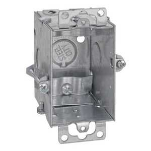 Thomas & Betts LXWOWC-25 4-Inch X 2-Inch Galvanized Gangable Switch Box