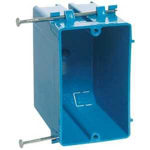 Thomas & Betts B120A-UPC 1 Gang Blue PVC Outlet Box