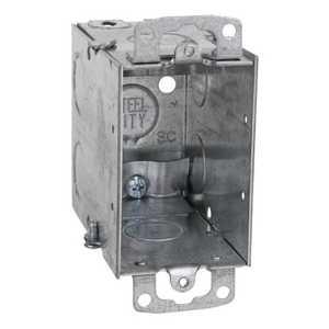 Thomas & Betts CXWOW 3-Inch X 2 In Galvanized Gangable Switch Box