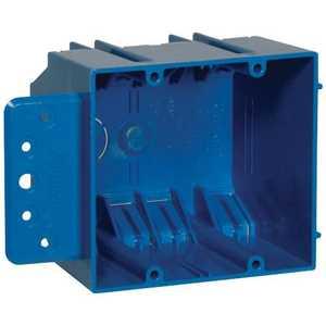 Thomas & Betts B232B-UPC 2 Gang Non-Metallic Outlet Box With Bracket