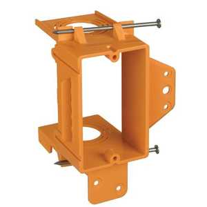 Thomas & Betts SC100A 1 Gang Orange Low Voltage Backless Bracket