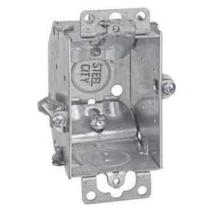 Thomas & Betts LCOWC 3-Inch X 2-Inch Galvanized Gangable Switch Box