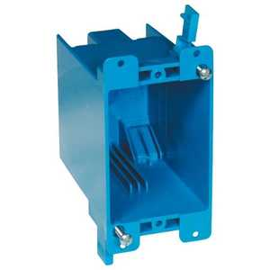 Thomas & Betts B120R 1-Gang 20 Cu In Blue Non-Metallic Old Work Outlet Box
