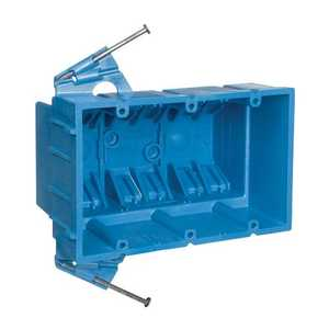 Thomas & Betts BH353A SuperBlue Hard Shell Non-Metallic Outlet Box