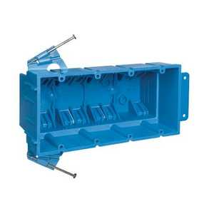 Thomas & Betts BH464A 4 Gang Outlet Box