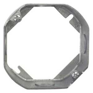 Thomas & Betts 55151.5-25 4-Inch Octagon Galvanized Outlet Box Extension Ring
