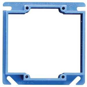 Thomas & Betts A420RR 2-Gang Blue Outlet Box Cover