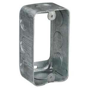 Thomas & Betts 593611/2-30 4 in X 2-1/8 in X 1-7/8 in Galvanized Handy/Utility Box Extension Ring, 13 Cu In
