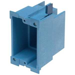 Thomas & Betts BH118R SuperBlue Hard Shell Non-Metallic Old Work Outlet Box