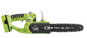 American Lawn Mower LCS32010 10-Inch Cordless Chain Saw