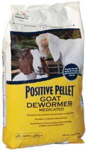 Manna Pro MPC 0390052339 Positive Pellet Goat Dewormer 6lb