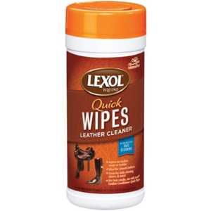 Manna Pro 0567015329 Lexol Leather Cleaner Wipes