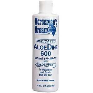 Manna Pro 0097025355 Aloedine 600 Shampoo 16 oz