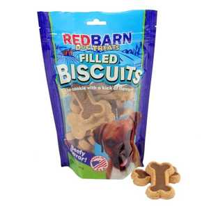 Red Barn 609004 Chewy Louie Beef Filled Biscuits