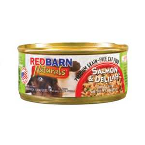 Red Barn 105C3S Salmon And Delilah Cat Food 3-Oz