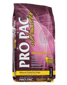 PRO PAC 1720026 Meadow Prime Dog Food 28lb