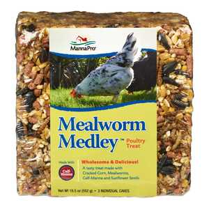 Manna Pro MPCP 0020030406 Mealworm Medley