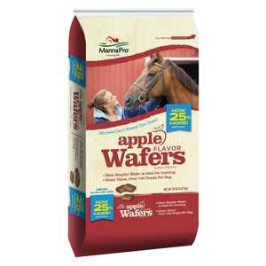 Manna Pro 93006125 Apple Wafers Horse Treats 20lb