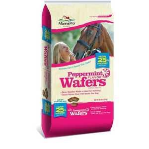 Manna Pro MCP0093000120 Peppermint Wafers Horse Treats 20lb
