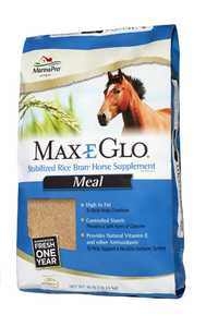 Manna Pro MPC 0503920140 Max-E-Glo Rice Stabilized Bran Meal 40lb