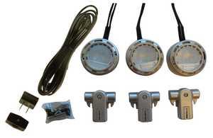 Westek XLV30KCCC 20-Watt Xenon Line Voltage Accent Light 3-Pack