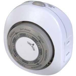 Westek TM03WHB Indoor 1-Outlet Weekly Random Security Timer