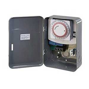 Amertac TM101 125-Volt Indoor Wire-In Daily Mechanical Time Switch