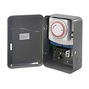 Amertac TM104 208-227-Volt Indoor Wire-In Daily Mechanical Time Switch