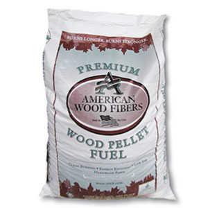 American Wood Fibers PELLET403A Hardwood Wood Fiber Pellets 40lb Bag