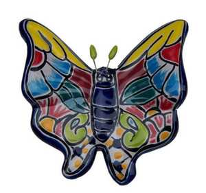 Amigos Pottery 5015 5.5 In Small Wall Butterfly