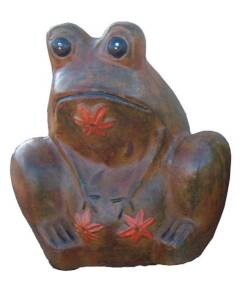 Amigos Pottery 619 21.5 In X 17.5 In Large Frog Planter
