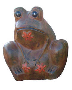 Amigos Pottery 619 Large Frog Planter