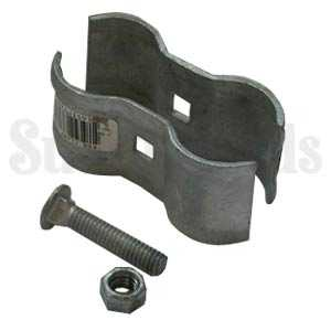 ADC Mfg. Co. 2164 Kennel Clamp 1-3/8 x 1-3/8