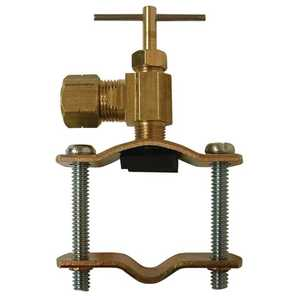 Watts LFA-141 3/8 in Lead Free Ander-Lign Poly Tube To Pipe Saddle Valve