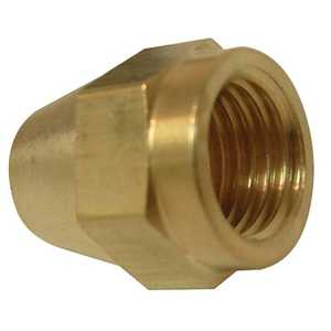 Watts A60/PB41-S 1/4 Flare Brass Short Rod Nut