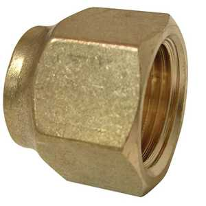 Watts A162/PB413 3/8 Flare Brass Short Forged Nut